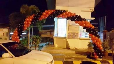Arch Balloon Entrance 00279