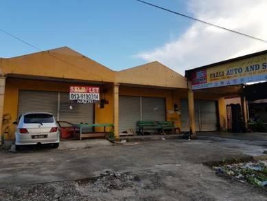 Kedai Berhampiran Hospital baru Kuala Krai