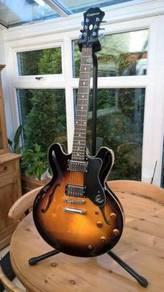 Epiphone/Gibson Dot 335 Vintage Sunburst