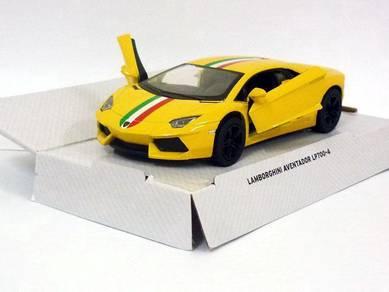 Diecast Lamborghini aventador LP700-4 (yellow)