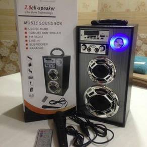 Portable Speaker with Microphone & Remote Control