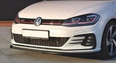 VW Golf mk7.5 7.5 Gti Front Carbon lip skirting