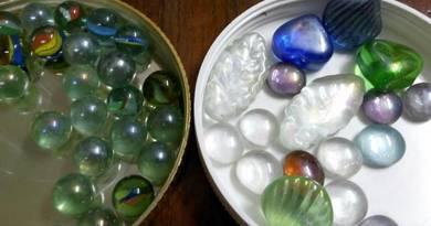 Guli Marbles Stone Batu Aquarium Hiasan Decor