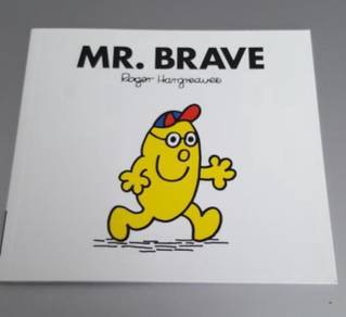 Mr Brave Mr Men Brand New Book