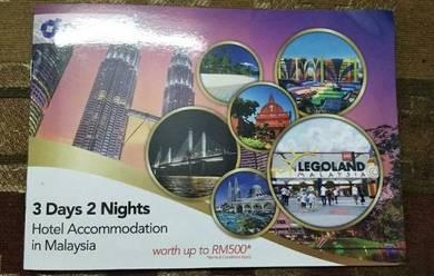Hotel Accomodation Voucher Worth Up To RM500
