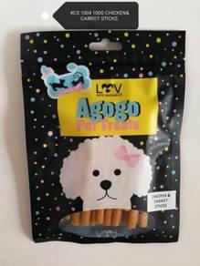Agogo Dog Treat Chicken Carrot Stick 100gram Snack