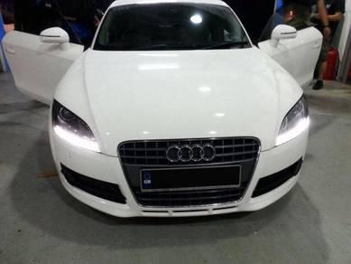 Audi TT TTS headlamp 8J led headlight