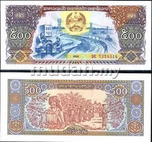 Laos 500 kip 1988 p 31 unc