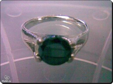ABRWG-B001 Gorgeous White Gold Filled Ring -Size 7