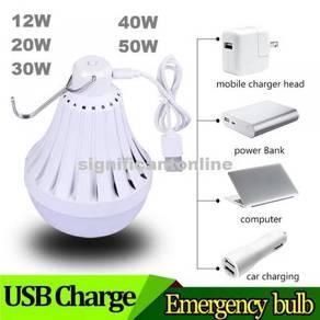USB Rechargeable LED Bulb 20W 30W 40W 50W