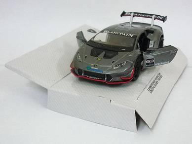 Grey Lamborghini Huracan LP620-2 Super trofeo