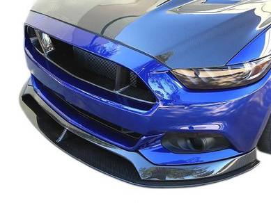 Ford Mustang 2015 GT Front Carbon lip bodykit