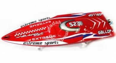 DTRC E25 RED Gallop Brushless RC Boat ARTR