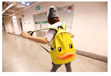Korean Fashion Ducky Backpack