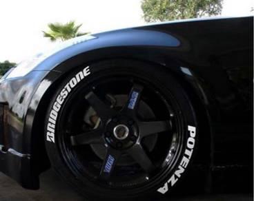 Rubber tyre Bridgestone