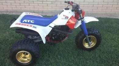 1986 honda atc350x 3 wheeler, 86 atc 350x trike