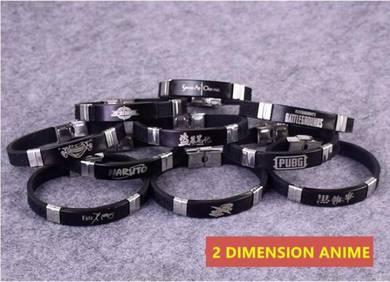Anime tokyo ghoul SAO One piece bracelets