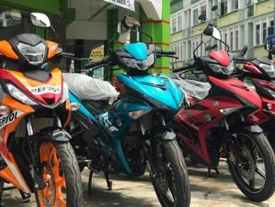 2019 Honda Rs150 lel0ng kaw kaw dep0  15 unit sahaja