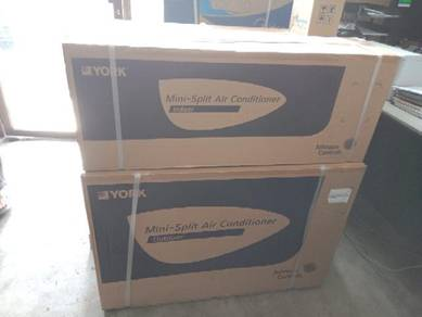 Aircond York Siap Pemasangan 1 hp hingga 2.5 hp