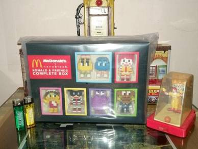Mcdonald's NANOBLOCK Ronald & Friends Complete Box