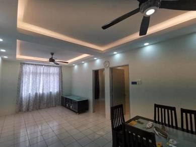 Angkasa Apartment / Level 2 / Menggatal / Newly Renovated and Furnishe