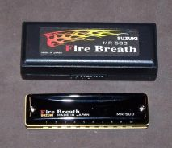 Suzuki MR500C Fire Breath Harmonica