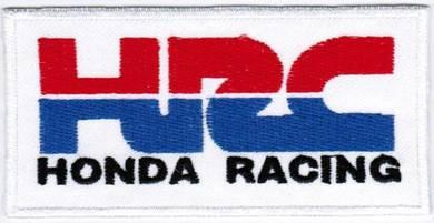 Honda Racing HRC Motor Company Automaker Car Patch
