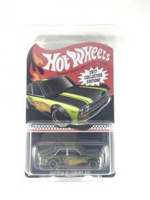 Hotwheels 2017 K-Mart Mail In Datsun Bluebird 510