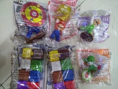 McDonald Super Mario set