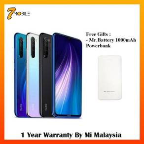 Xiaomi Redmi Note 8 [64GB+4GB] Original Xiaomi MY
