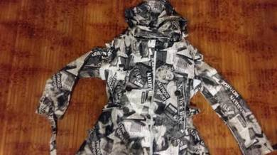 Jaket full print marliyn monore