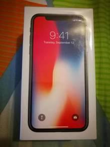 New iPhone X 64GB. Menjual 14OOrm jer