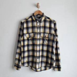 Unbrand flannel double pocket shirt