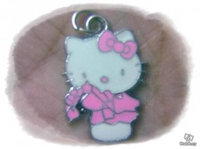 ABPSS-H007 Hello Kitty Pendant Necklace - Pink