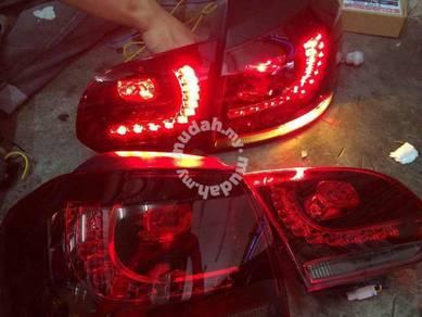 Volkswagen golf gti mk6 led tail lamp light