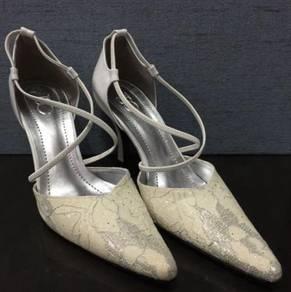 TSC White High Heels Shoes
