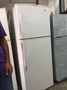 LG 2 doors Peti Sejuk Ais Refrigerator fridge