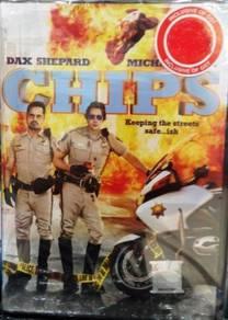 DVD CHIPS Dax Shepard Michael Pena