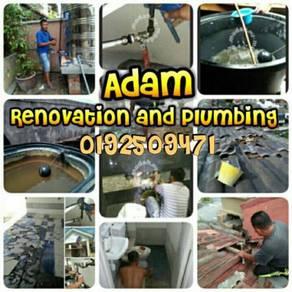 Water propin roop leaking senawang