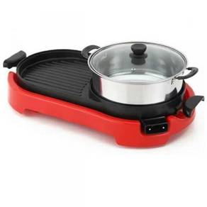 Bbq steamboat / electric grill 06