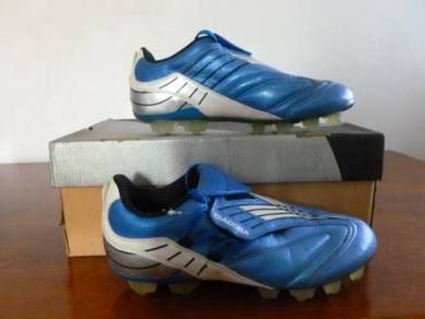 Kasut Bola Diadora size 8.5uk Blue and Silver