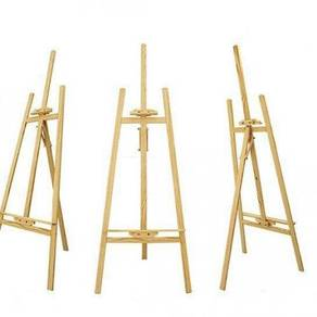 Wood easel stand / poster stand A06