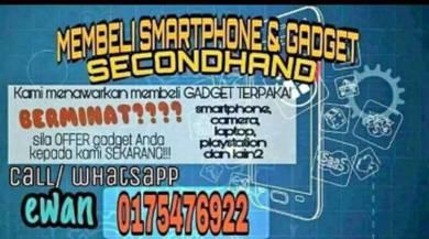 Membeli smartphone terpakai