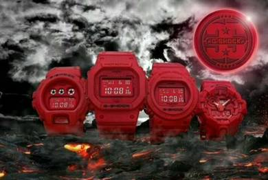 CASIO G-shock 35th Anniversary red out