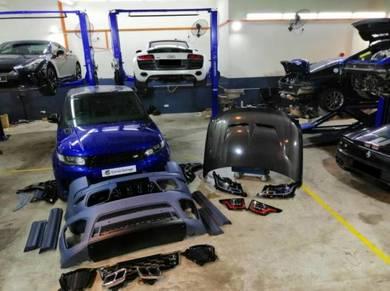 Range Rover Sport SVR Facelift Conversion Bodykit