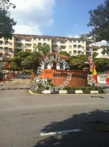 Saujana Apt (Groundfloor) dkt Kota Damansara Damai Sg Buloh KTM MRT