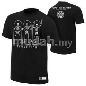 WWE WWF T Shirt (The Evolution) Triple H