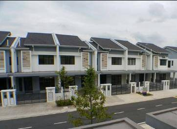 M-residence double storey house rawang
