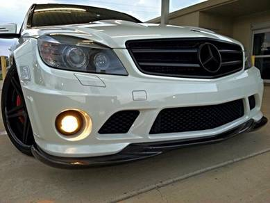 Mercedes c-class w204 c55 amg front bumper only