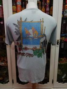 Vintage 80's Paperthin Puerto Rico 50/50 T Shirt